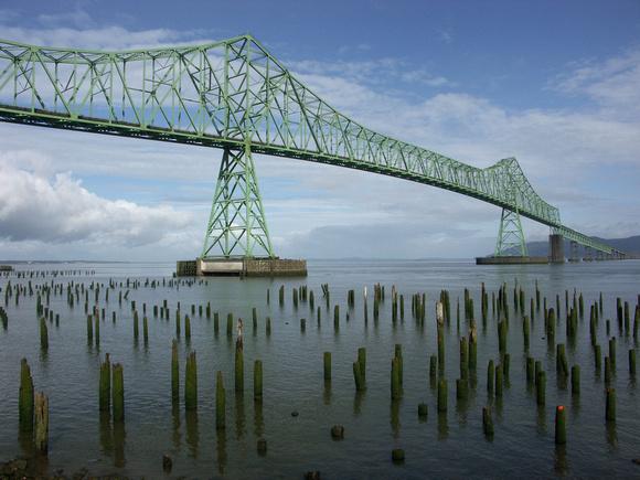 Columbia River Bridge, Astoria, Oregon