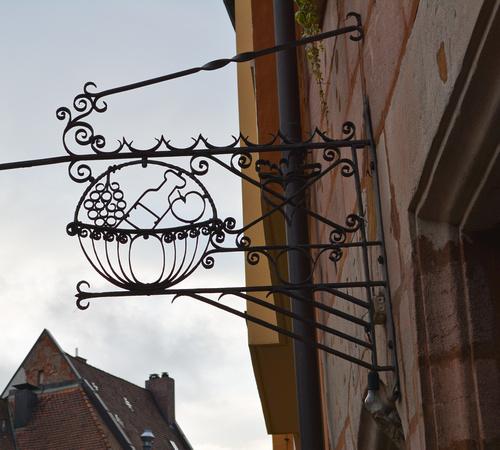 restaurant/food sign, Nuremburg