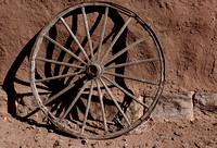 Fort Union wagon wheel