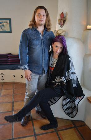 Ashley and Gene engagement photographs