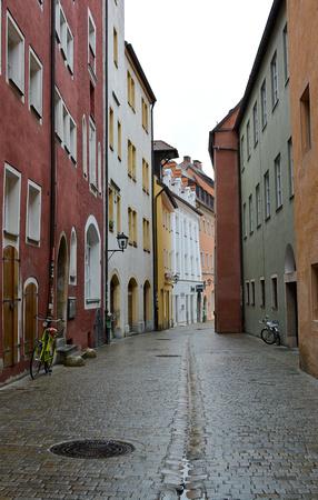 street, Regensburg, Germany
