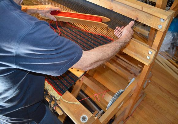 scabbard weaving 8