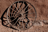 Fort Union wagon wheel