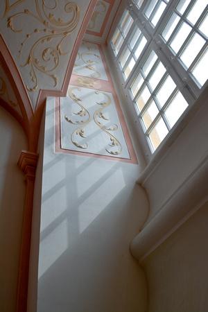 Melk Abbey window light and shadow