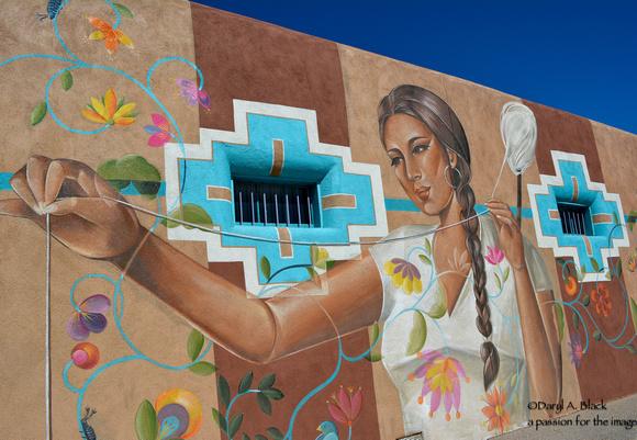 EVFAC mural 2 by Naniba Chacon