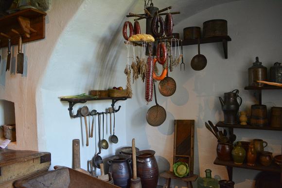 Kitchen, Marksburg Castle
