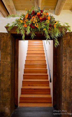 Staircase, Territorial House, Taos