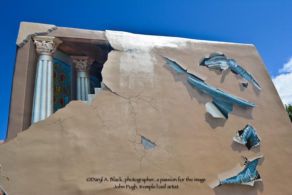 Santa Fe trompe l'oeil by John Pugh 5