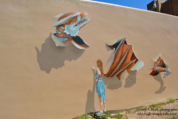 Santa Fe trompe l'oeil by John Pugh-2