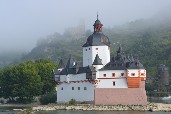 Pfalzgrafenstein (castle) on Pfalz Island, Kaub, Germany