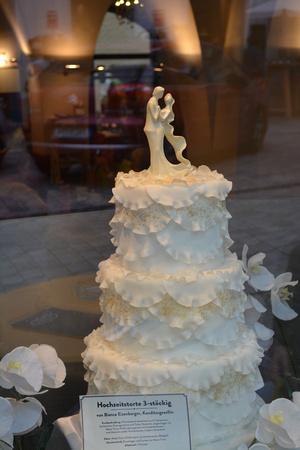 wedding cake, Passau, Germany