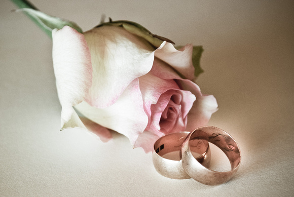 rose and rings