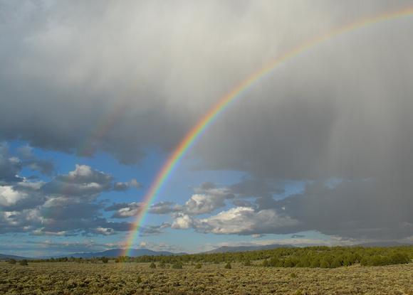 late summer rainbow