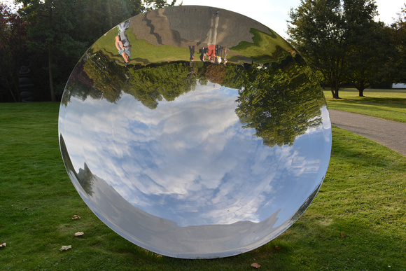 untitled mirror, Cologne Botanical Gardens