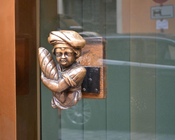 Bamberg bakery door knob